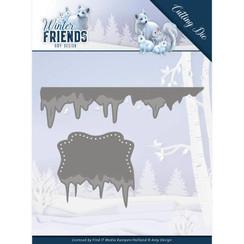 ADD10192 - Mal - Amy Design - Winter Friends - Ice Border