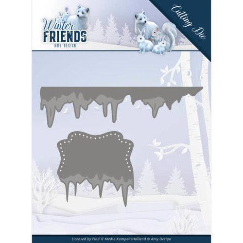 Amy Design ADD10192 - Mal - Amy Design - Winter Friends - Ice Border