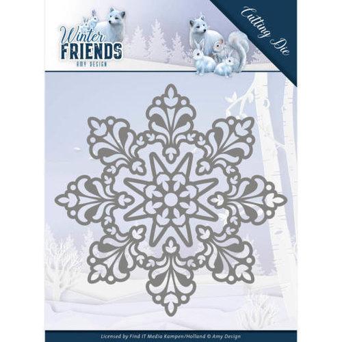 Amy Design ADD10191 - Mal - Amy Design - Winter Friends - Snow Crystal