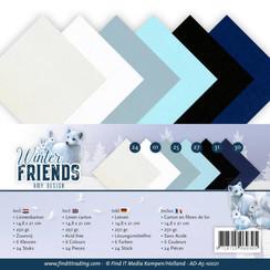 AD-A5-10021 - Linnenpakket - A5 - Amy Design - Winter Friends