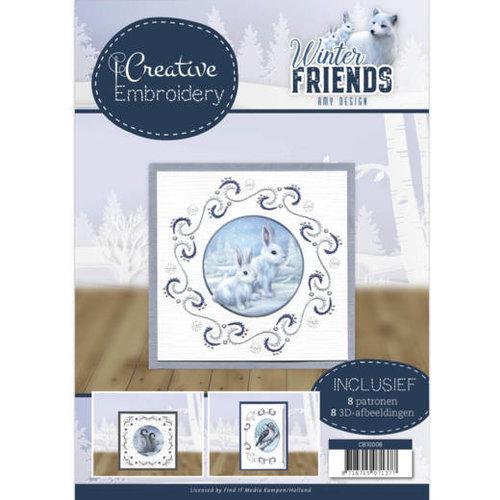 Amy Design CB10008 - Creative Embroidery 8 - Amy Design - Winter Friends