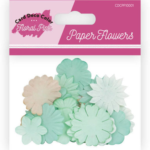 Yvonne Creations CDCPF10001 - Paper Flowers - Card Deco Color - Floral Pink