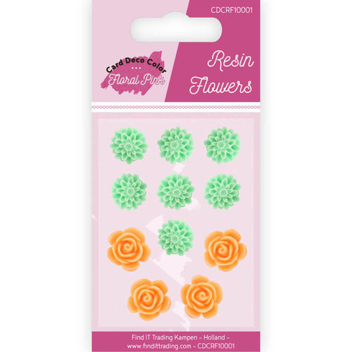 Yvonne Creations CDCRF10001 - Resin Flowers - Yvonne Creations - Floral Pink