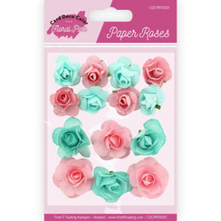 CDCPR10001 - Paper Roses - Yvonne Creations - Floral Pink