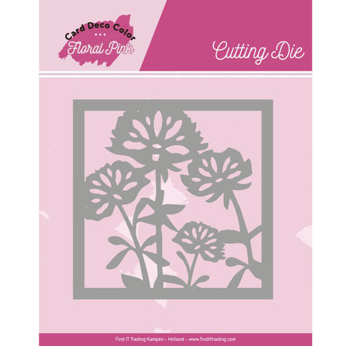 Yvonne Creations CDCCD10005 - Mal - Yvonne Creations - Floral Pink - Floral Pink Square