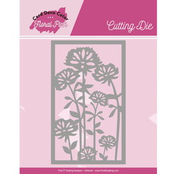 CDCCD10003 - Mal - Yvonne Creations - Floral Pink - Floral Pink Frame