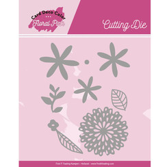 CDCCD10001 - Mal - Yvonne Creations - Floral Pink - Floral Pink Flowers