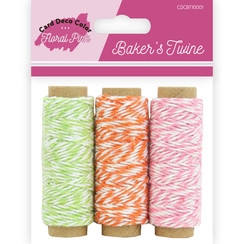 CDCBT10001 - Bakers Twine - Yvonne Creations  - Floral Pink