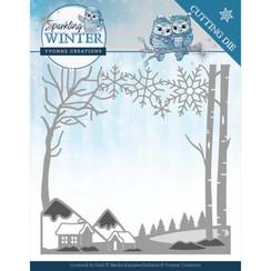 YCD10187 - Mal - Yvonne Creations - Sparkling Winter - Winter Landscape