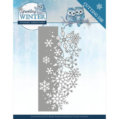 YCD10189 - Mal - Yvonne Creations - Sparkling Winter - Sparkling Border