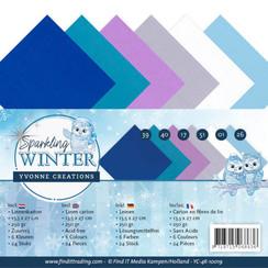 YC-4K-10019 - Linnenpakket - 4K - Yvonne Creations - Sparkling Winter