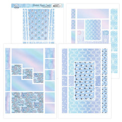 YCFC20006 - Printed Figure Cards - Yvonne Creations - Sparkling Winter