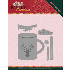 YCD10186 - Mal - Yvonne Creations - Family Christmas - Hot Drink