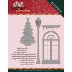 YCD10185 - Mal - Yvonne Creations - Family Christmas - Christmas Window