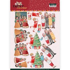 CD11389 - 10 stuks knipvellen - Yvonne Creations- Celebrate Christmas