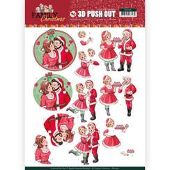 SB10391 - 3D Uitdrukvel - Yvonne Creations - Family Christmas - Loving Christmas