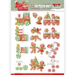 SB10396 - 3D Uitdrukvel - Yvonne Creations - Sweet Christmas - Sweet Cookies