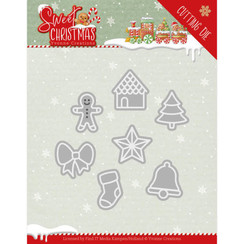 YCD10182 - Mal - Yvonne Creations - Sweet Christmas - Sweet Christmas Cookies