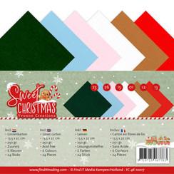 YC-4K-10017 - Linnenpakket - 4K - Yvonne Creations - Sweet Christmas
