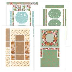 YCFC20003 - Printed Figure Cards - Yvonne Creations - Sweet Christmas