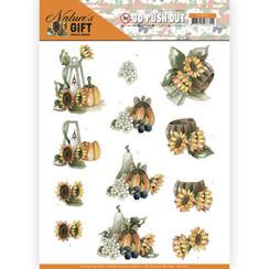 SB10384 - Uitdrukvel - Precious Marieke - Nature's Gift - Yellow Gift