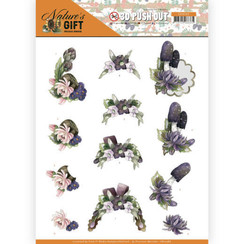 SB10386 - Uitdrukvel - Precious Marieke - Nature's Gift - Purple Gift