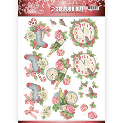 SB10389 - 3D Uitdrukvel - Jeanines Art- Lovely Christmas - Lovely Christmas Time