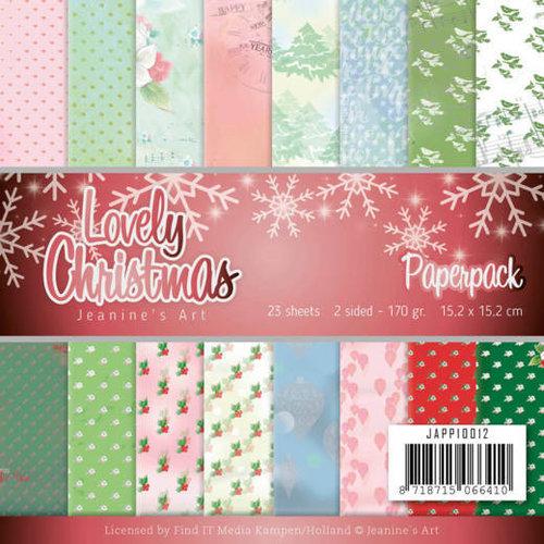 Jeanines Art JAPP10012 - Papierpak - Jeanines Art- Lovely Christmas