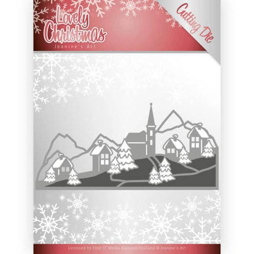 Jeanines Art JAD10079 - Mal - Jeanines Art- Lovely Christmas - Lovely Christmas Landscape