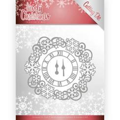 JAD10080 - Mal - Jeanines Art- Lovely Christmas - Lovely Clock Frame