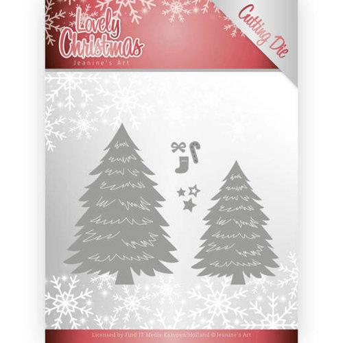Jeanines Art JAD10081 - Mal - Jeanines Art- Lovely Christmas - Lovely Trees