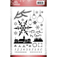 JACS10029 - Stempel - Jeanines Art- Lovely Christmas