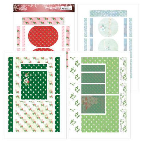 Jeanines Art JAFC10002 - Printed Figure Cards - Jeanines Art- Lovely Christmas