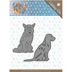 ADD10189 - Mal - Amy Design - Dogs - Sitting Dogs