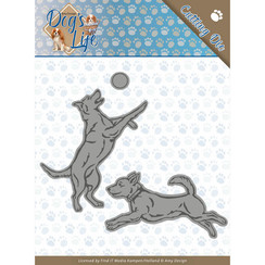 ADD10190 - Mal - Amy Design - Dogs - Playing Dogs
