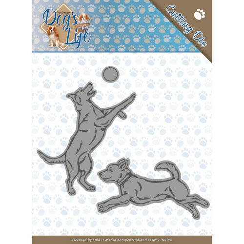 Amy Design ADD10190 - Mal - Amy Design - Dogs - Playing Dogs