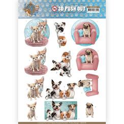 SB10378 - 3D Uitdrukvel - Amy Design - Dog's Life - All kind of Dogs