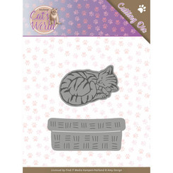 ADD10188 - Mal - Amy Design - Cats - Sleeping Cats