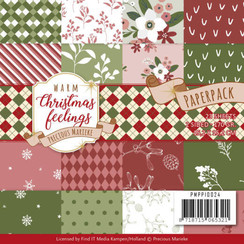 PMPP10024 - Papierpak - Precious Marieke - Warm Christmas Feelings