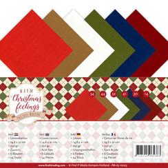 PM-A5-10023 - Linnenpakket - A5 - Precious Marieke - Warm Christmas Feelings