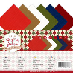 PM-4K-10023 - Linnenpakket - 4K - Precious Marieke - Warm Christmas Feelings