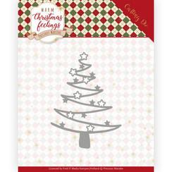 PM10164 - Mal - Precious Marieke - Warm Christmas Feelings - Star Tree