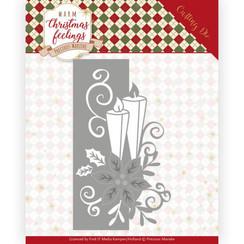 PM10159 - Mal - Precious Marieke - Warm Christmas Feelings - Candle Edge