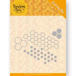 JAD10074 - Mal - Jeanines Art - Buzzing Bees - Hexagon Set