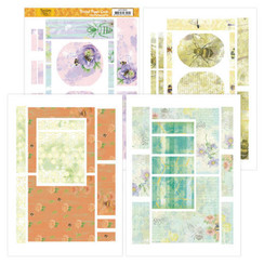 JAFC20001 - Printed Figure Cards - Jeanines Art - Buzzing Bees