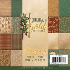 ADPP10027 - Papierpak - Amy Design - Christmas in Gold