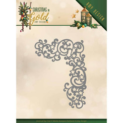 ADD10185 - Mal - Amy Design - Christmas in Gold - Golden Corner