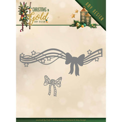 ADD10186 - Mal - Amy Design - Christmas in Gold - Christmas Bow