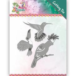 YCD10175 - Mal - Yvonne Creations - Happy Tropics - Exotic Birds