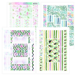 YCFC20002 - Printed Figure Cards - Yvonne Creations - Happy Tropics